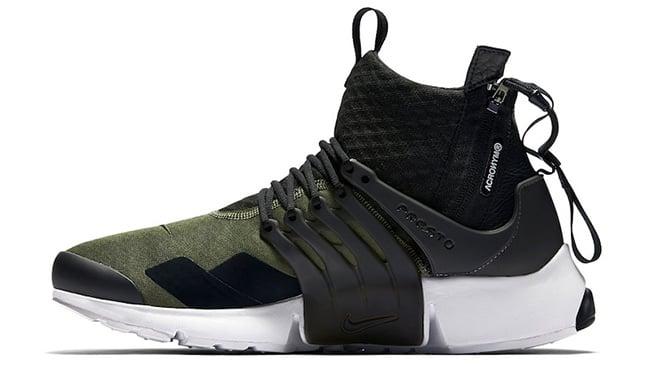 Olive ACRONYM Nike Air Presto