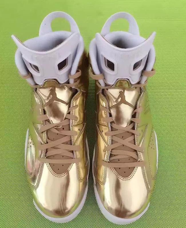 f3997fefec1 Air Jordan 6 Pinnacle Metallic Gold | SneakerFiles