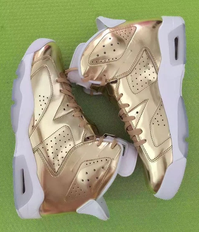 Pinnacle Air Jordan 6 Metallic Gold
