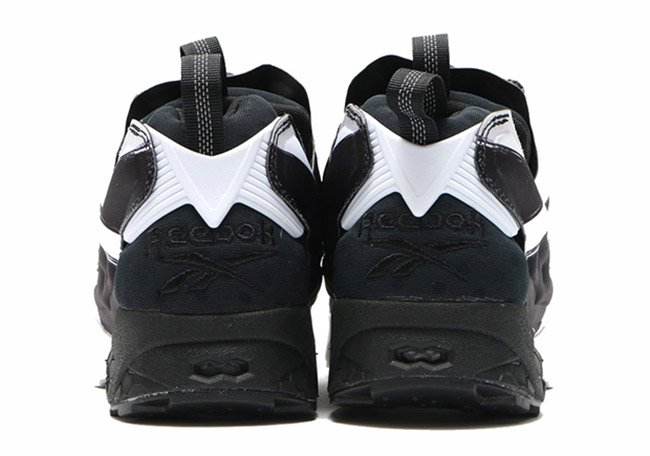 Reebok Insta Pump Fury Big Logo Black White