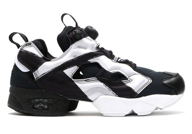 reebok insta pump fury big logo black white sneakerfiles. Black Bedroom Furniture Sets. Home Design Ideas