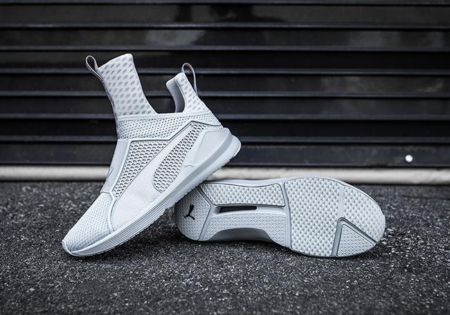 Rihanna Puma Fenty Trainer Quarry Grey