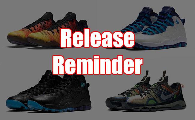 Sneakers Release June 15 18 2016