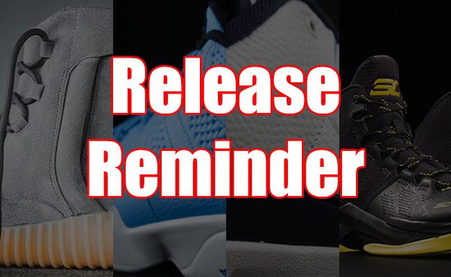 Sneakers Release June 9 11 2016