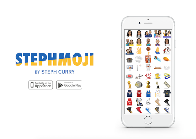 Steph Curry Stephmoji App