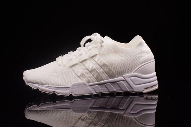 the latest ada7b 9c574 ... Triple White adidas EQT Support Primeknit The ...