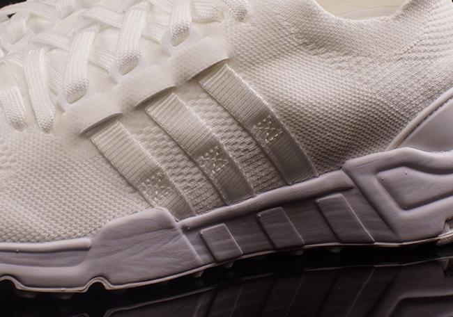 Triple White adidas EQT Support Primeknit