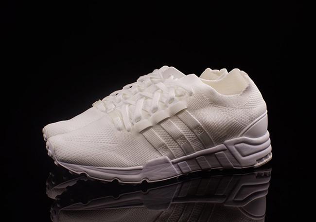 separation shoes 4e1ec 528d0 Triple White adidas EQT Support Primeknit