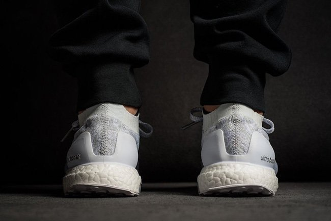 Triple White adidas Ultra Boost Uncaged Release