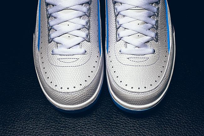 UNC Air Jordan 2 Low