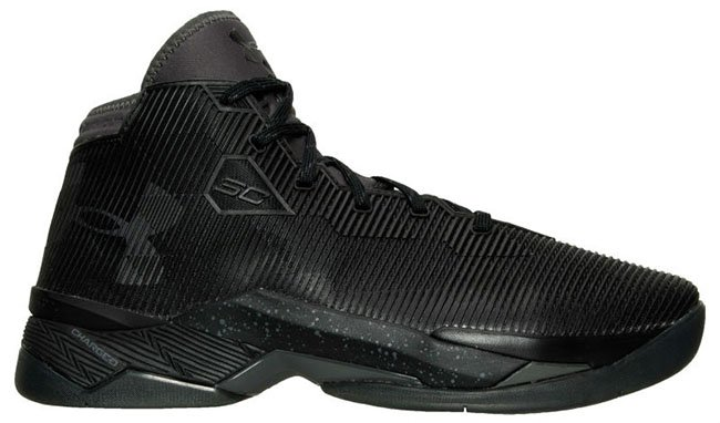 Under Armour Curry 2.5 Triple Black