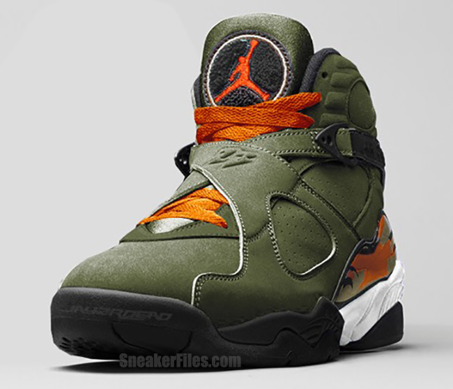UNDFTD Air Jordan 8 Undefeated Release Date