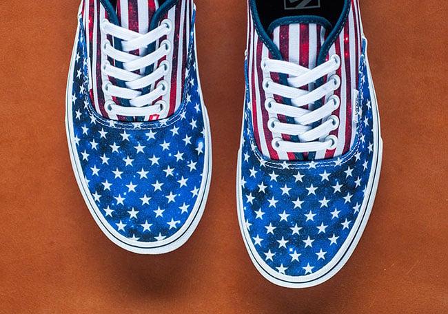 Vans Authentic American Flag