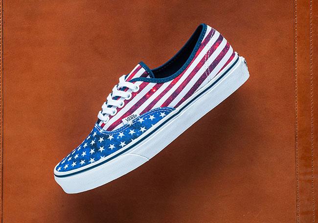 Vans Authentic American Flag | SneakerFiles