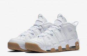 White Gum Nike Air More Uptempo Release