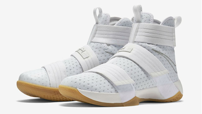 separation shoes 8971a 58fe7 White Gum Nike LeBron Soldier 10