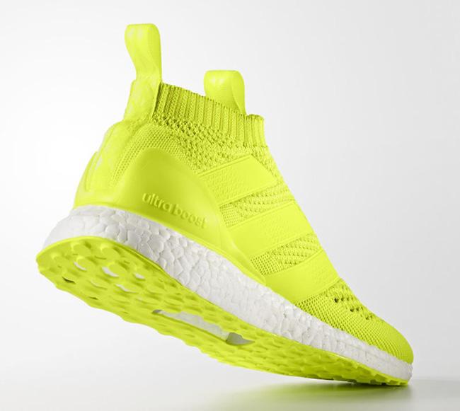 adidas Ace 16 PureControl Ultra Boost Solar Yellow 6bfd91ebb