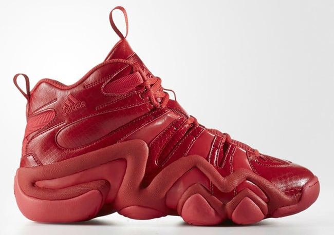 adidas Crazy 8 Red USA Snake