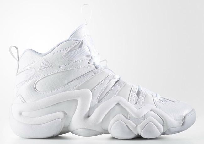 adidas Crazy 8 White USA Snake