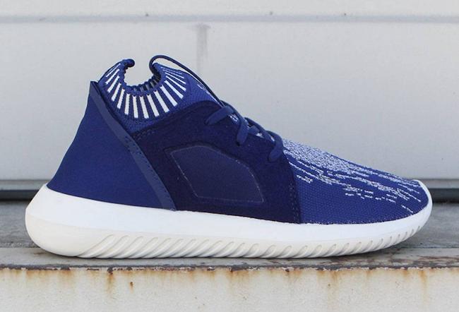 Adidas tubulare primeknit ribelle blu sneakerfiles femminili