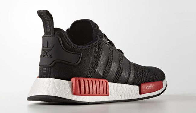 adidas NMD Black Red White