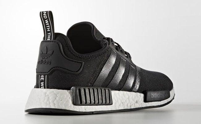 adidas NMD Mesh Black White