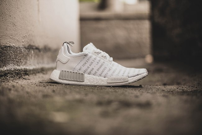 adidas NMD Brand With The Three Stripes Whiteout Blackout Pack