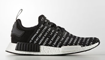 adidas NMD Brand with Three Stripes Blackout