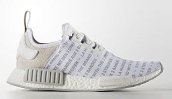 adidas NMD Brand with Three Stripes Whiteout