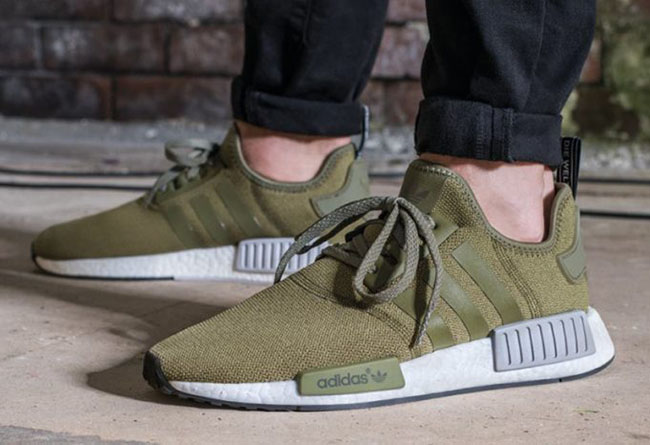 the latest e3a63 6fe2a adidas NMD R1 Olive Release Date