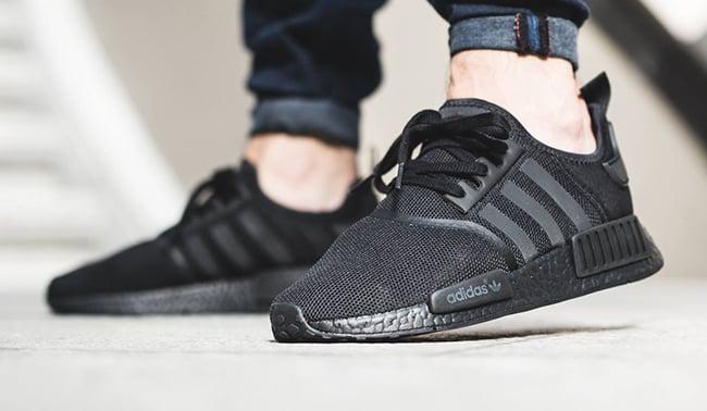 620ef8664 adidas NMD Triple Black On Feet