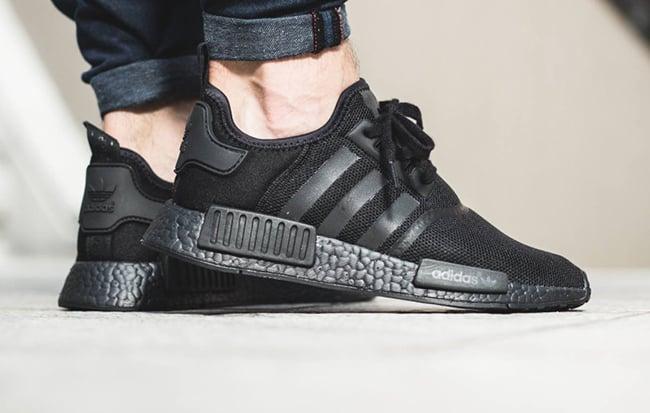 adidas NMD Triple Black On Feet