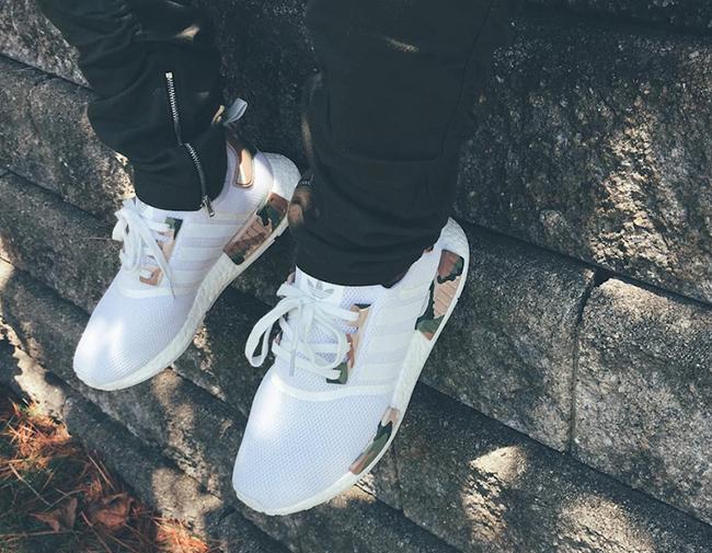 adidas NMD White Camo Custom | SneakerFiles
