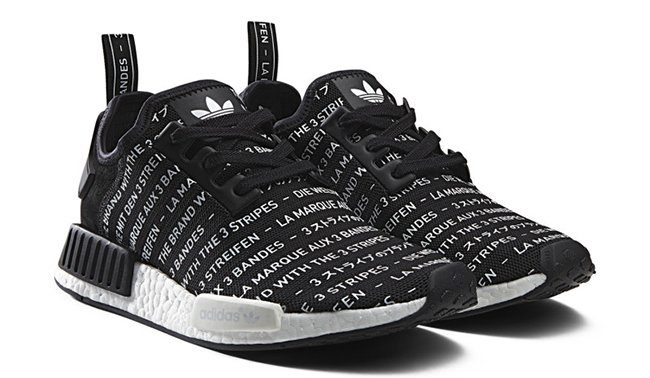 the best attitude f2588 3f097 80%OFF adidas NMD Blackout Whiteout Pack Drops Friday