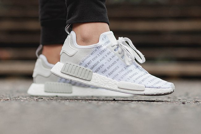adidas NMD Whiteout Brand with Three Stripes