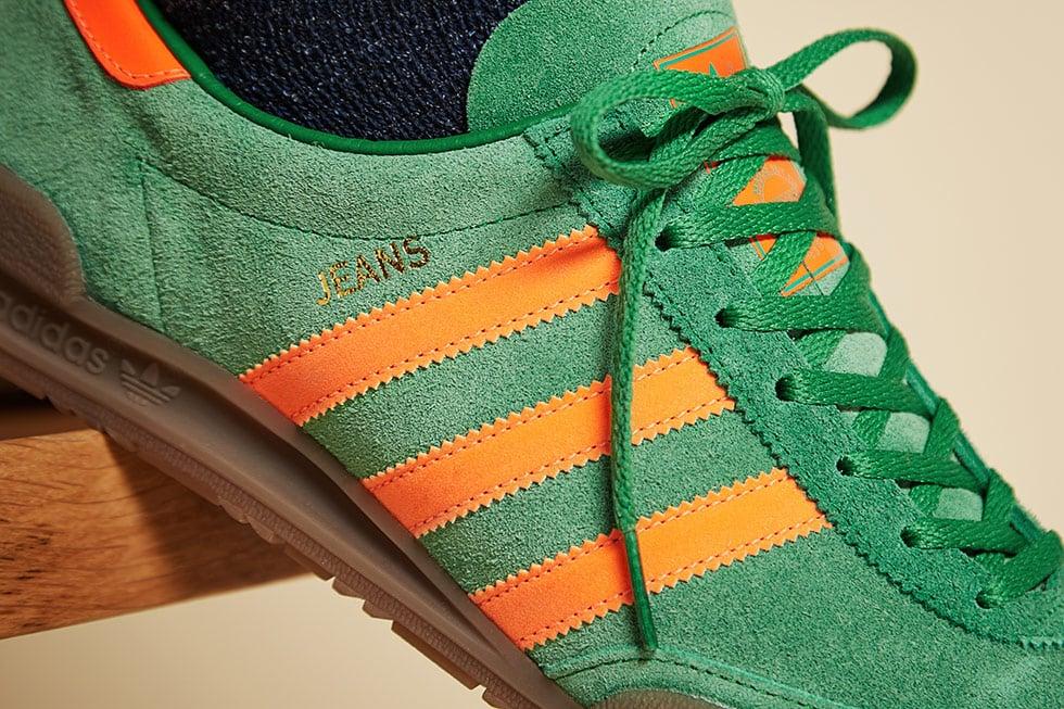 adidas Originals Jeans OG Green Solar Red