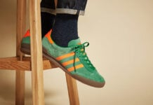 adidas Originals Jeans OG Green Solar Red