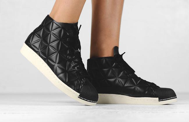 adidas Pro Model 80s Polygon Core Black