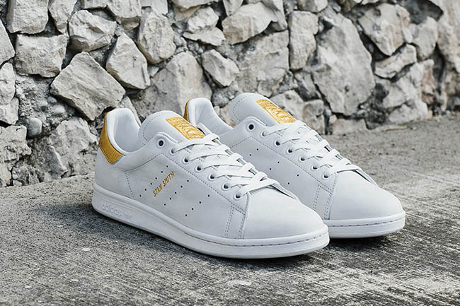 cheap for discount 5dae9 6c9cb adidas Stan Smith 999 24K Gold | SneakerFiles