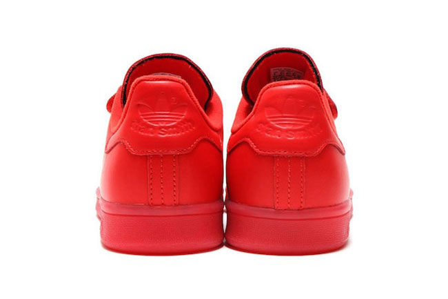 adidas stan smith von triple red sneakerfiles