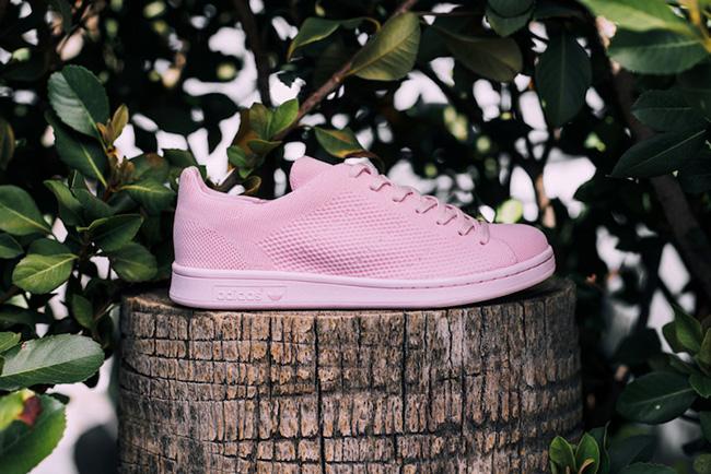 adidas Stan Smith Primeknit Pink