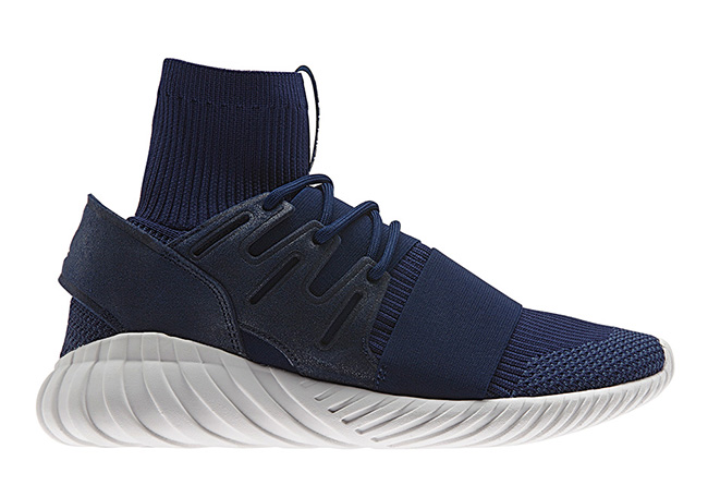 adidas Tubular Doom Primeknit Navy Grey Release