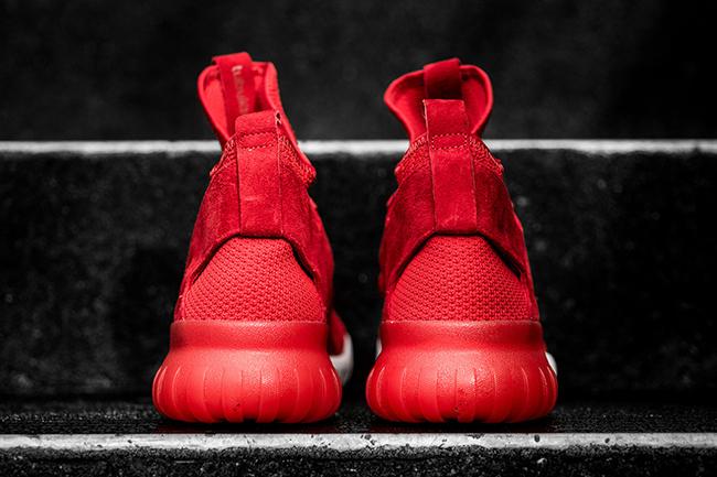 Adidas Rørformet X Rød W4DRZ1