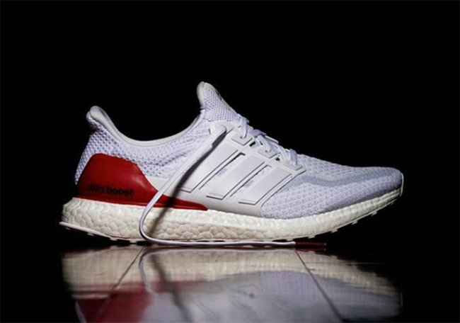 cheap for discount fcc01 d27c0 adidas Ultra Boost Red Heel