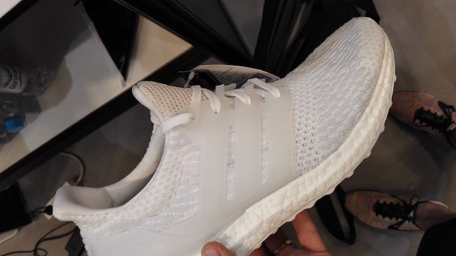 Buy adidas Ultra Boost 3.0 White / Olive / First Look