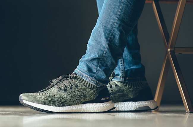adidas Ultra Boost Uncaged Tech Earth On Feet