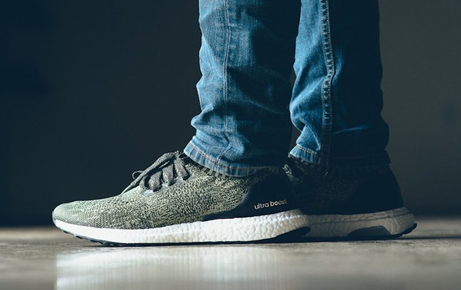 outlet store 4045c fdb3a adidas Ultra Boost Uncaged Tech Earth On Feet