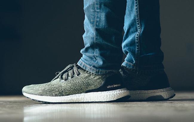 adidas Ultra Boost Uncaged Tech Earth On Feet