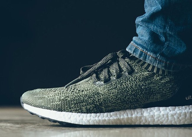 sports shoes d3f17 2087e On Feet Photos of the adidas Ultra Boost Uncaged Tech Earth lovely