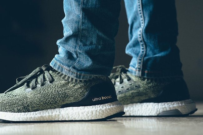 adidas Ultra Boost Uncaged Tech Earth On Feet b83cd11d2b